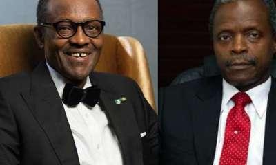 President Muhammadu Buhari and Vice President Yemi Osinbajo (SAN).