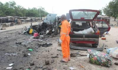 Breaking: Boko Haram strikes in Maiduguri