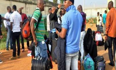 Just In: 90 Nigerians Deported From South Africa