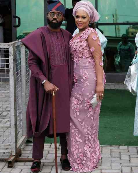 Photos from Banky and Adesua's traditional wedding