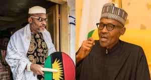 Nnamdi Kanu Gives Buhari Only Condition To Dump Biafra Agitation