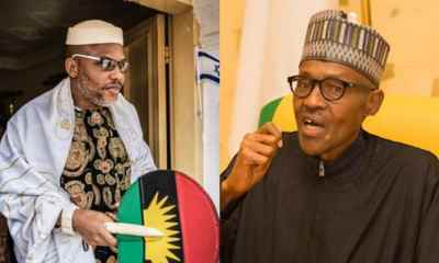 Nnamdi Kanu Gives Buhari Only Condition To Dump Biafra Agitation