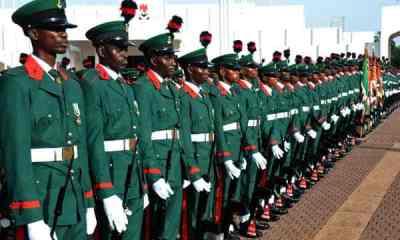Breaking: Nigerian Army Redeploys 20 Major-Generals, 10 Brigadier-Generals (Full List)