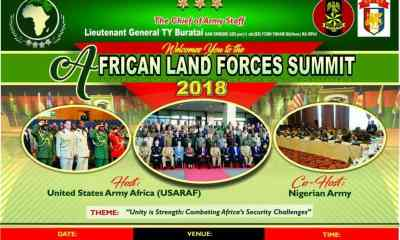 African Land Forces Summit Holds In Abuja