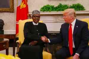 Donald Trump and Muhammadu Buhari - US Bans Nigeria From Participating In Us 2022 Visa Lottery