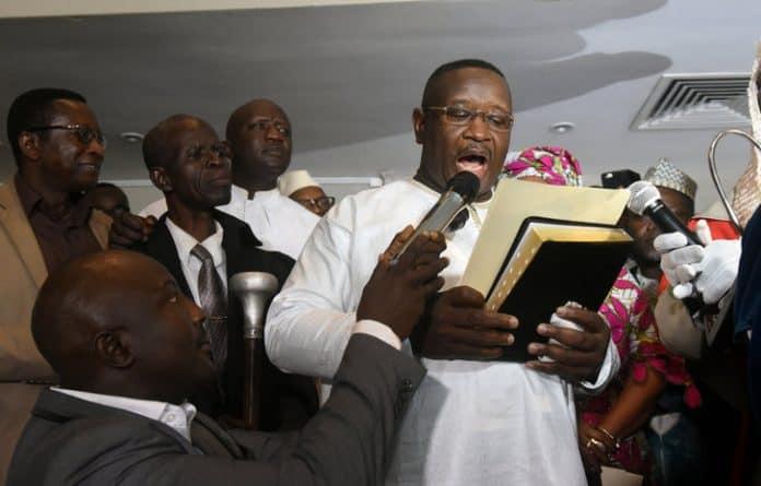 Julius Bio Sworn In As New President
