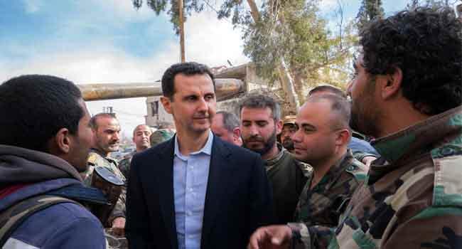 France To Strip Syria's President, Assad Of National Honour