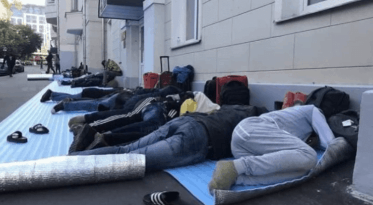 Stranded Nigerians In Russia Back In Nigeria