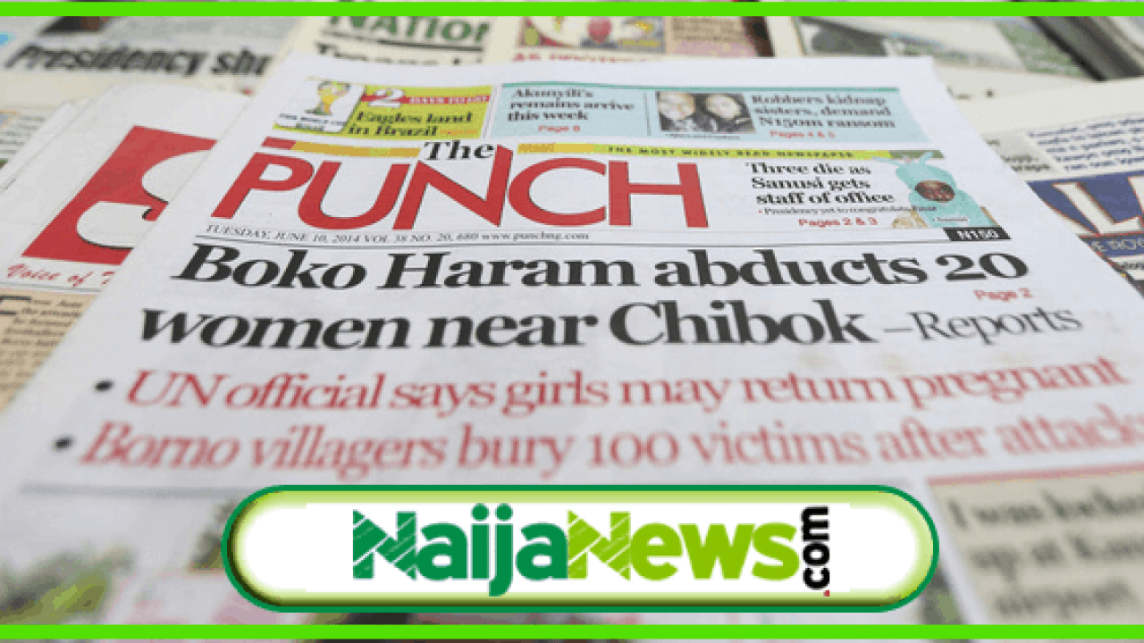nigerian newspapers today