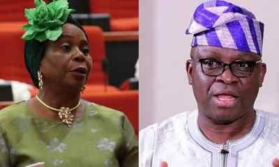 Fayose vs Olujimi: Senator Reveals Governor Behind Ekiti PDP Crisis