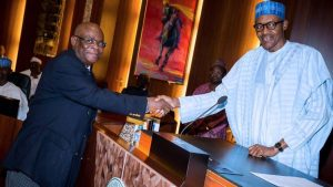 Image result for bUHARI and Onnoghen