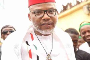 Biafra: Nnamdi Kanu Reacts To Magu's Arrest, Suspension As EFCC Chairman