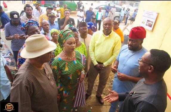 Desmond Elliott Commissions Public Toilet For His Constituency (Photos)