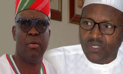 See How Fayose Reacted To Buhari's Victory