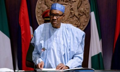 Buhari swears in RMAFC