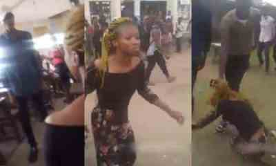 Boyfriend Beats Girlfriend For Dumping Him After Paying N20,000 School Fees (Video)