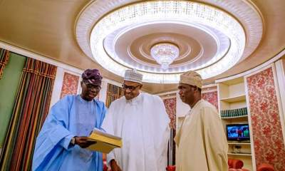 What Sanwo-Olu Discussed With Buhari In Aso Rock