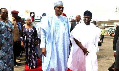 President Muhammadu Buhari, Akinwunmi Ambode, Lagos State