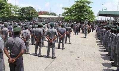 Customs raid Abuja hotel