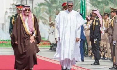 Buhari departs Saudi for Nigeria