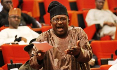 Breaking: APC's Smart Adeyemi Sends Dino Melaye Out Of Senate
