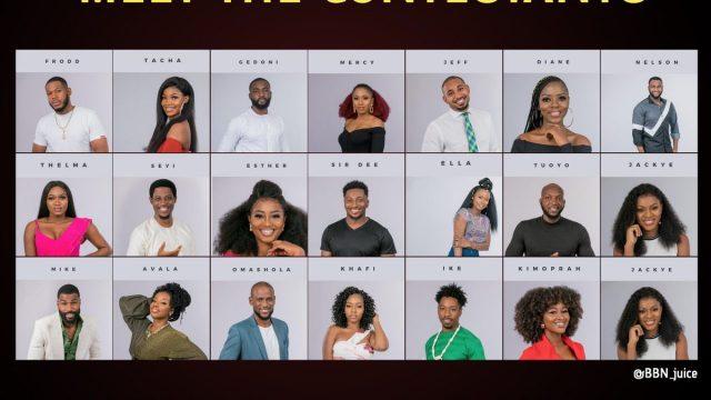 Image result for bbnaija 2019 housemates