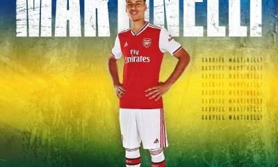 Arsenal signs Gabriel Martinelli