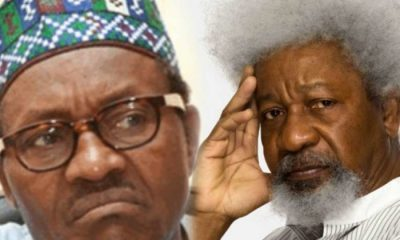 Wole Soyinka Roasts Buhari, DSS Over Sowore's Rearrest