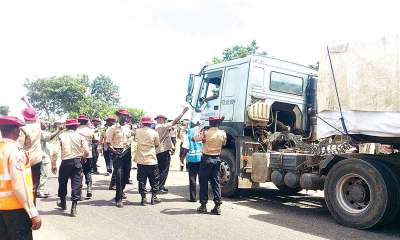 FRSC Bars Dangote Trucks On Roads For Specific Time