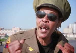 Reggae star Majek-Fashek