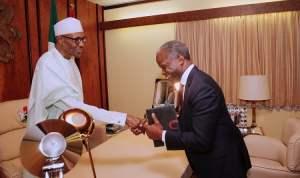 OSINBAJO MEET BUHARI 1 - Buhari Gives Osinbajo New Appointment