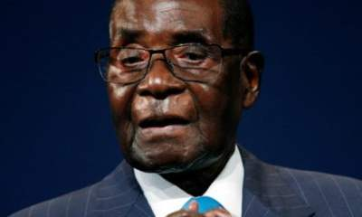Robert Mugabe at the World Economic Forum on Africa in South Africa, May 4, 2017. © Reuters