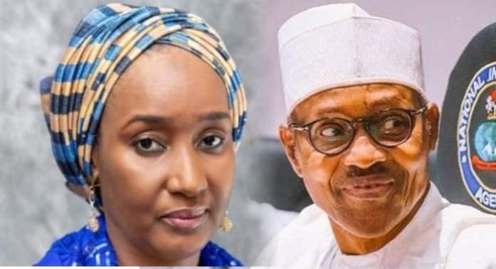 Buhari and new wife