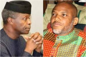 Biafra: 'Ask Buhari Govt Where VP Osinbajo Is' - Nnamdi Kanu Tells PDP