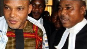 Biafra: Nnamdi Kanu Sends Message To Buhari Govt Over 'Attack' On Lawyer