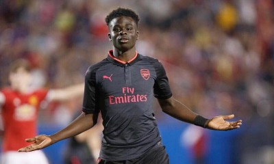 Arsenal's Saka Speaks On Playing For Super Eagles