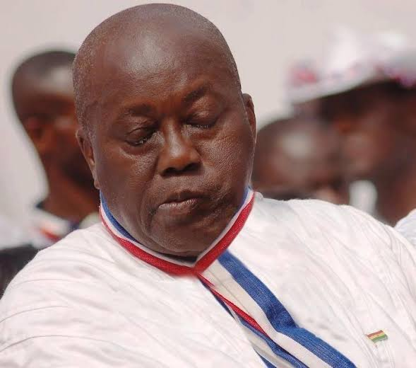 ddd - Ghanaian President, Nana Akufo-Addo, Spotted Again Sleeping At An Event