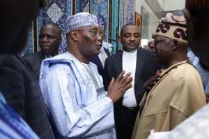 2023: Tinubu Meets Atiku In Lagos (Video)