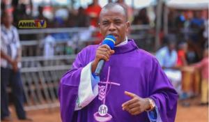 Mbaka - Fr. Mbaka Speaks On The 'Use Of Strands Of Hair In Bible' As Cure To COVID-19