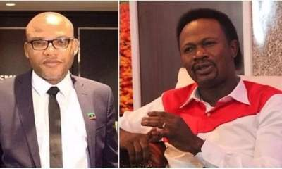 'Biafra To Get International Recognition, Nnamdi Kanu Will Wax Strong' - Prophet Iginla Releases Strong Prophecy