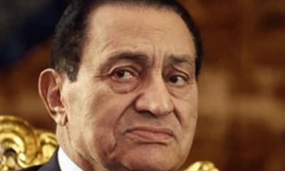 Just In: Ex-Egyptian Leader Hosni Mubarak Dies