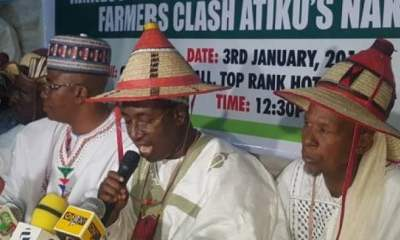 Herdsmen: Miyetti Allah Says Fulani Own Nigeria, Set To Unveil Security Outfit