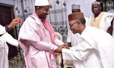 Breaking: Governor El-rufai Meets Dethroned Emir Sanusi