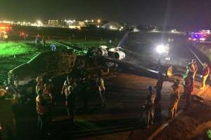 Plane Exploded - Plane Conveying COVID-19 Materials Exploded, Kills All Onboard