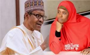 Buhari and Aisha Yesufu - Buhari Ordered Police To Harass EndSARS Protesters – Aisha Yesufu