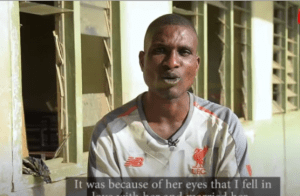 Father Of Blue Eyed Kids Narrate His Story, Said He Never Abandon His Family – [Video]