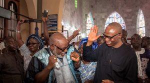 Akeredolu Speaks On Dragging Mimiko To EFCC