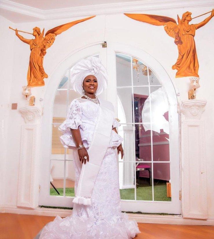 Nollywood Actress Mama Rainbow Looks Stunning As She Marks 78 Years