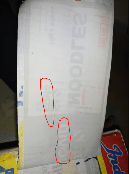 Woman Discovers She Has Been Buying COVID-19 Palliative Indomie For Months