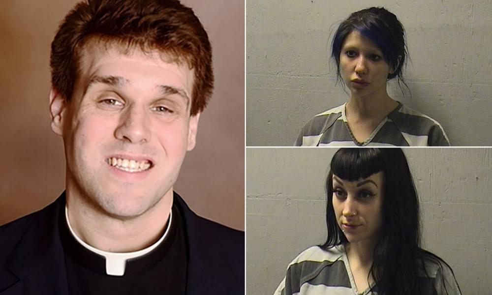 Catholic Priest Caught Having Threesome With Porn Stars On The Church Altar – [Photos]